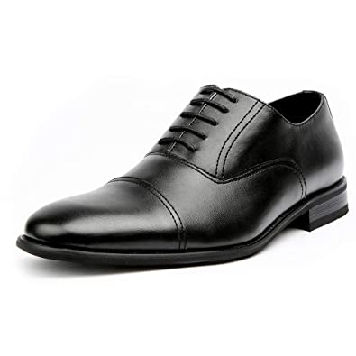 f16e4bb7e7c69e Ferro Aldo Charles MFA19569L Mens Classic Captoe Lace Up Oxford Casual Dress  Shoes - Black