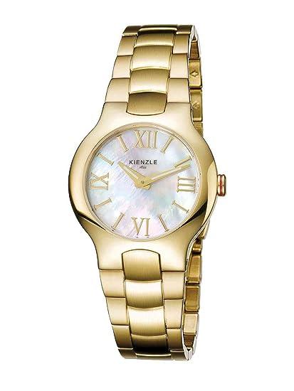 Kienzle K5042024042-00088 - Reloj analógico de cuarzo para mujer con correa de acero inoxidable