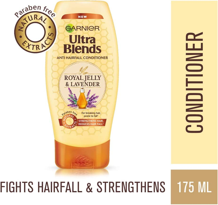 Garnier Ultra Blends Conditioner, Royal Jelly And Lavender, 175ml