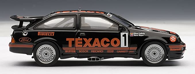 Amazon.com: Ford Sierra RS 500 Cosworth Group A 1987 #1 1/43 Autoart 68711: Toys & Games