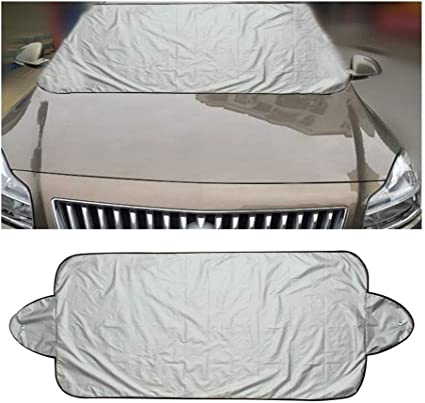 For Car Truck Windshield Screen Cover Sun Shade Snow Frost Ice Dust Protector