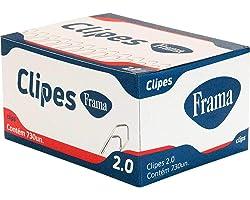 Clips Galvanizado Frama, Multicor