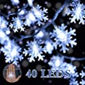 Diki Snowflake String Lights