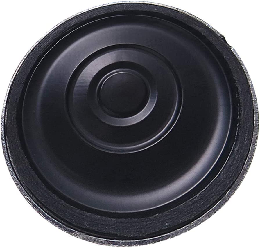 perfk 1W 8 Ohm 25mm Interne Magnet Lautsprecher Runde Tonverst/ärker Kunststoff Soundverst/ärker