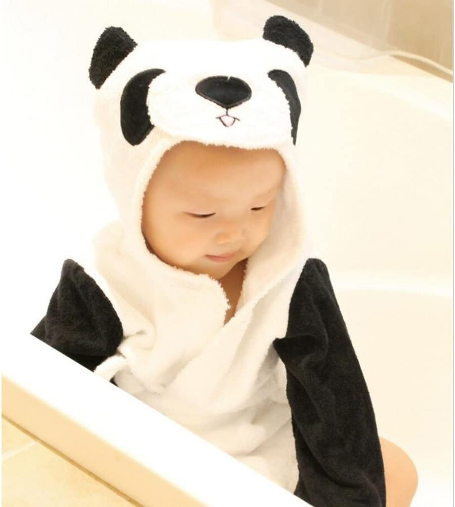 Chemise de nuit /à capuche Enfant Dessin anim/é animaux Flanelle Pyjamas Filles gar/çons Homewear Pyjama enfants doux Peignoir de bain