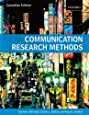 Communication Research Methods: Canadian Edition