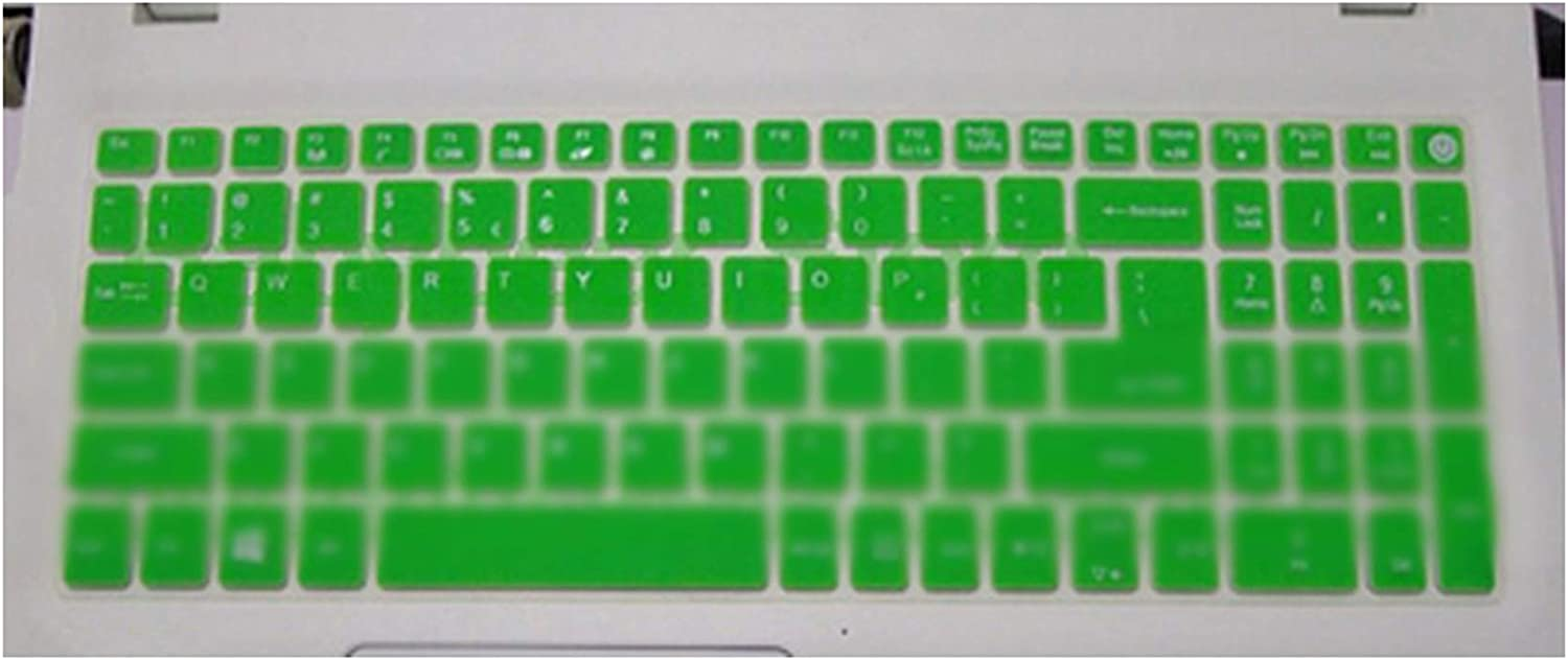 Keyboard Cover for Acer Aspire 5 A515 51G 52G 3 A315 21 A315 31 E 15 E5 574G E5 575 E5 576G E5 E 17 V17 Serie V3 V15 Series,Green