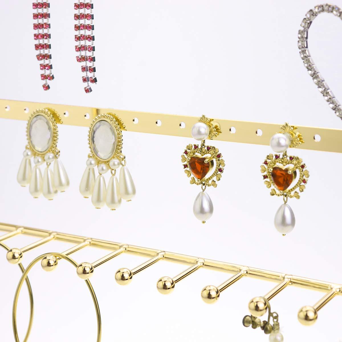 Morigem Jewelry Organizer 5 Tier Jewelry Stand Decorative Jewelry Holder Ebay