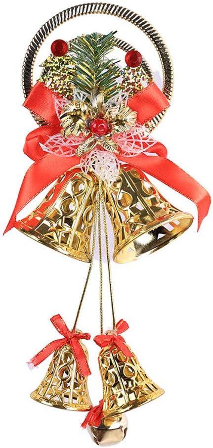 Mini Christmas Tree Decorations Pendants Small Bell Christmas Tree Baubles For Christmas Party