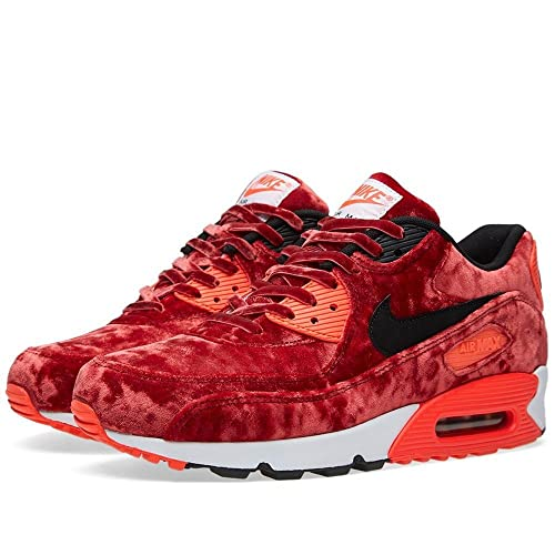 Nike Air Max 90 'Red Velvet' Gym RedBlack Infrrd MTLLC