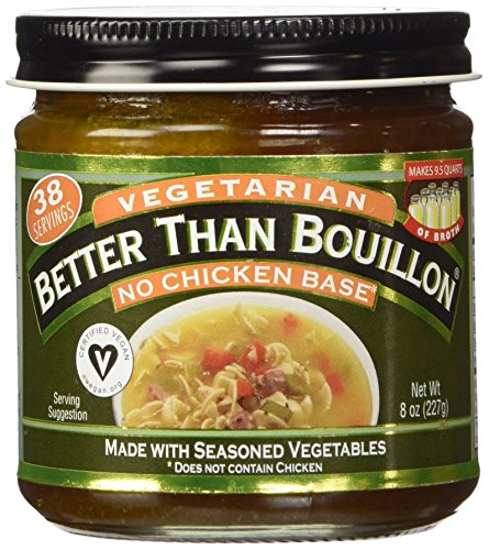 Chicken Bouillon No Msg - Better Than Bouillon, No Chicken Base, Vegan Certified 8 oz.