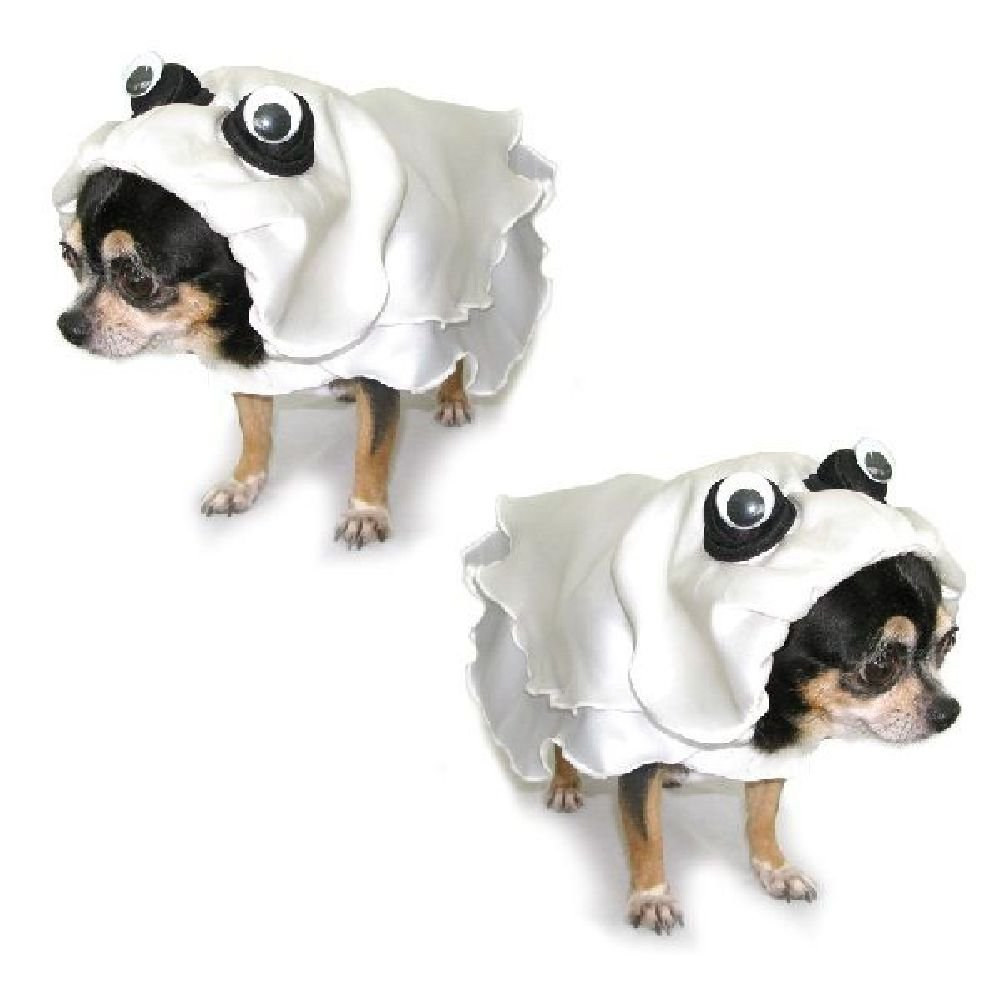 Dog Costume Ghost Costumes-Dress Your Dogs Like Scary Ghosts