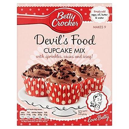 Betty Crocker Diablo magdalenas Food Mix 338 g
