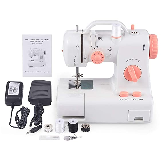 HJJH Máquina de Coser, Mini máquina de remendado de fabricación ...