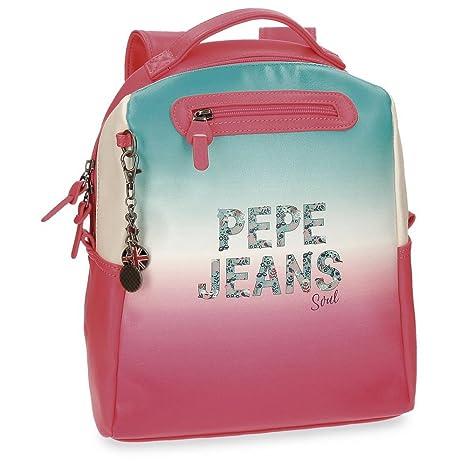 Pepe Jeans Nicole Mochila Tipo Casual, 33 cm, 10.73 litros