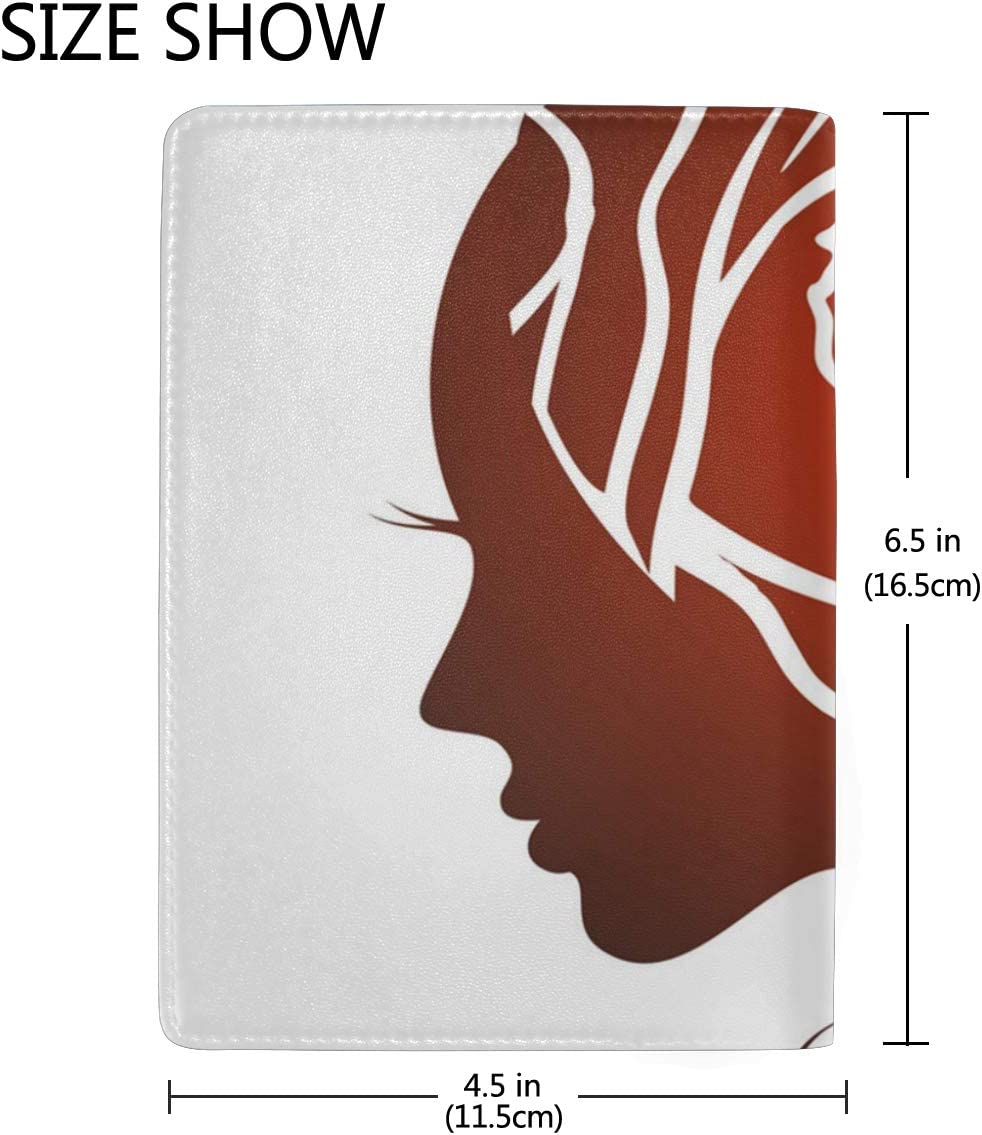 Rose Hair Accessories Multi-purpose Travel Passport Set With Storage Bag Leather Passport Holder Passport Holder With Passport Holder Travel Wallet