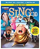 Sing (Blu-ray 3D + Blu-ray + Digital HD)