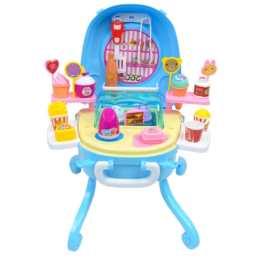 D DOLITY Playset de Tienda de Helado de Simulación con Sonido y Luz Juguete de Desarrollo para Niño: Amazon.es: Juguetes y juegos