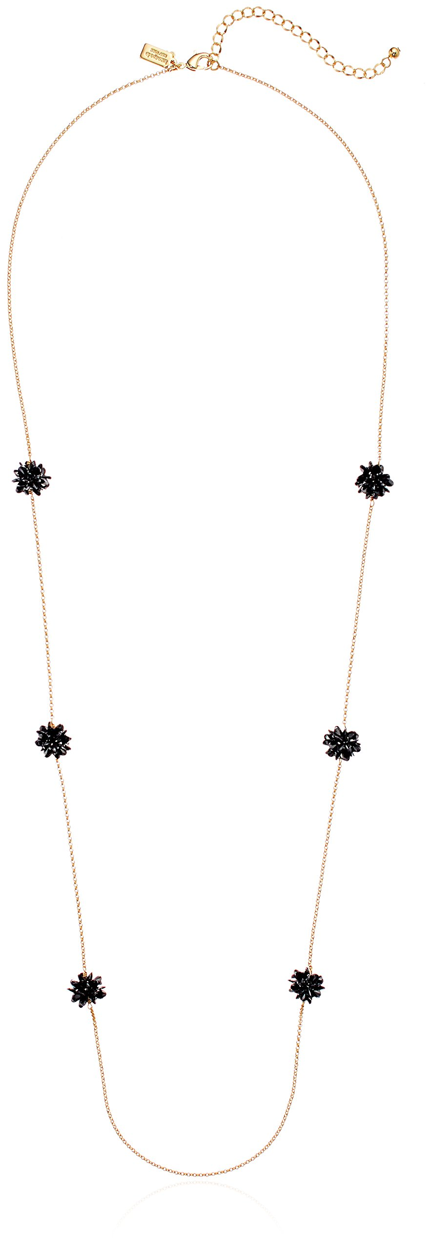 kate spade new york Flying Colors Rock Candy Scatter Jet Strand Necklace