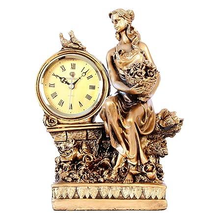 Relojes de chimenea FOOFAY Familiares Reloj de Escritorio Europeo ...