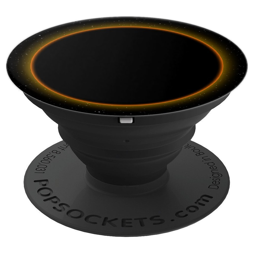 Total Solar Sun Eclipse 2017 Cute PopSocket Grip Space - PopSockets Grip and Stand for Phones and Tablets
