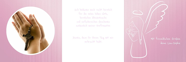 Weitere Anlässe     Dankeskarte Konfirmation_Angel   30 Karten (format  145.00x145.00mm) Farbe  Rosa B075CQZK9Y   Ermäßigung    Hohe Qualität Und Geringen Overhead    Sonderkauf  e8d794