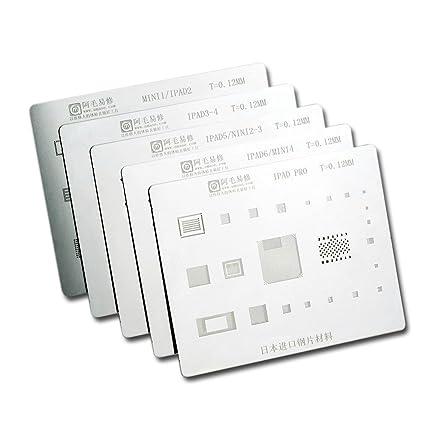 Ipad Template   Vipfix All Purpose Pcb Motherboard Bga Reballing Stencil Template