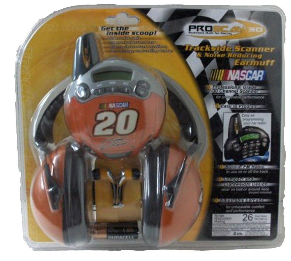 Proscan C30-20 NASCAR #20 Tony Stewart Trackside Scanner with FM Radio