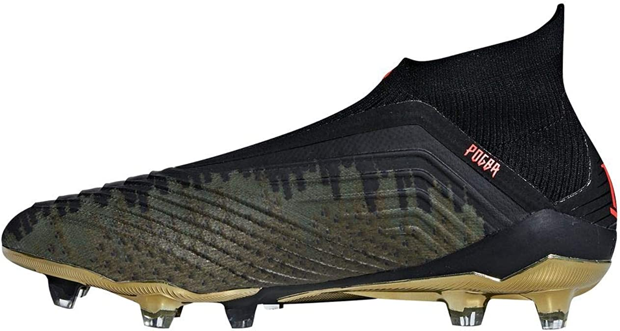 adidas PP Predator 18+ FG Chaussures de Football Homme Noir