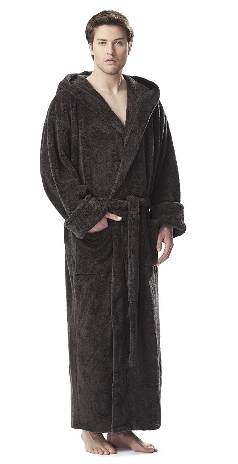 290cfb845e Arus Men s Fleece Robe