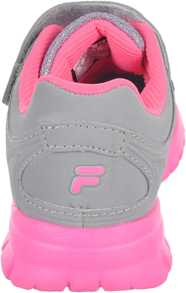 Gray//Silver 8 Toddler Fila BoysEscalate Sneakers