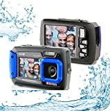 Silicon Valley Imaging Corp 8800-BU Waterproof 20MP Waterproof ACQUA 8800 Shockproof UnderWater Digital Camera Video Recorder (Blue)