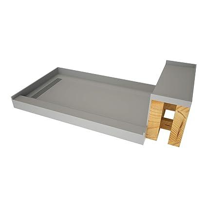48 Inch Shower Base With Seat.Tile Redi Usa Base N Bench Wf4860l Rb48 Kit Tileable