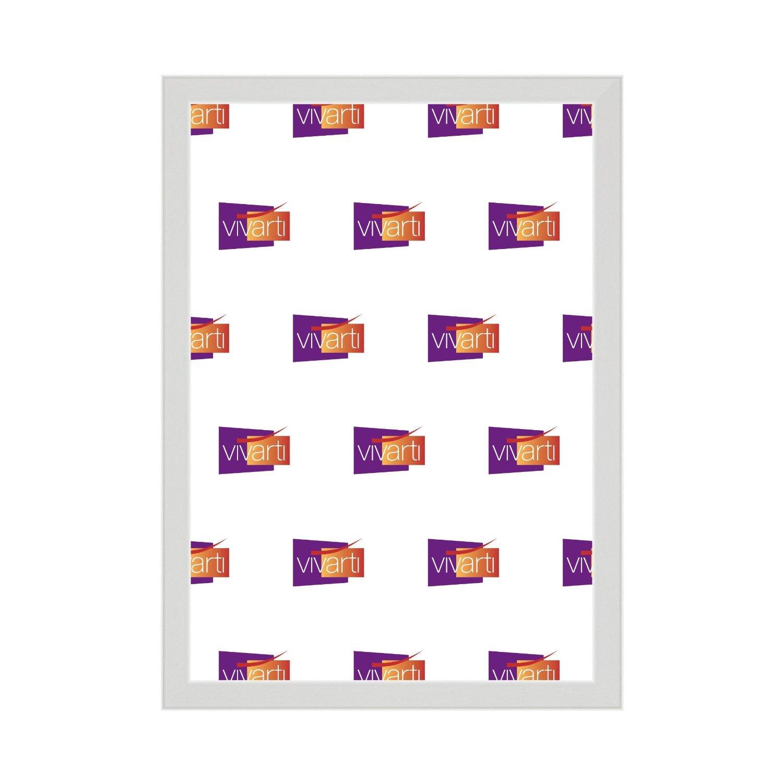 Fino Matt Blanco Marco, 40 x 50 cm: Amazon.es: Hogar