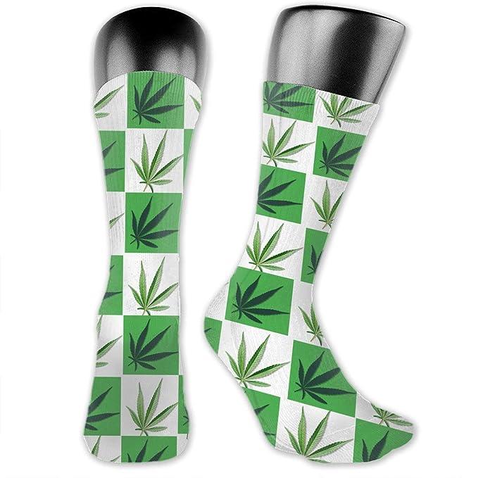 Amazon.com: Marijuana Pot Leaf Smoke - Cojín deportivo para ...