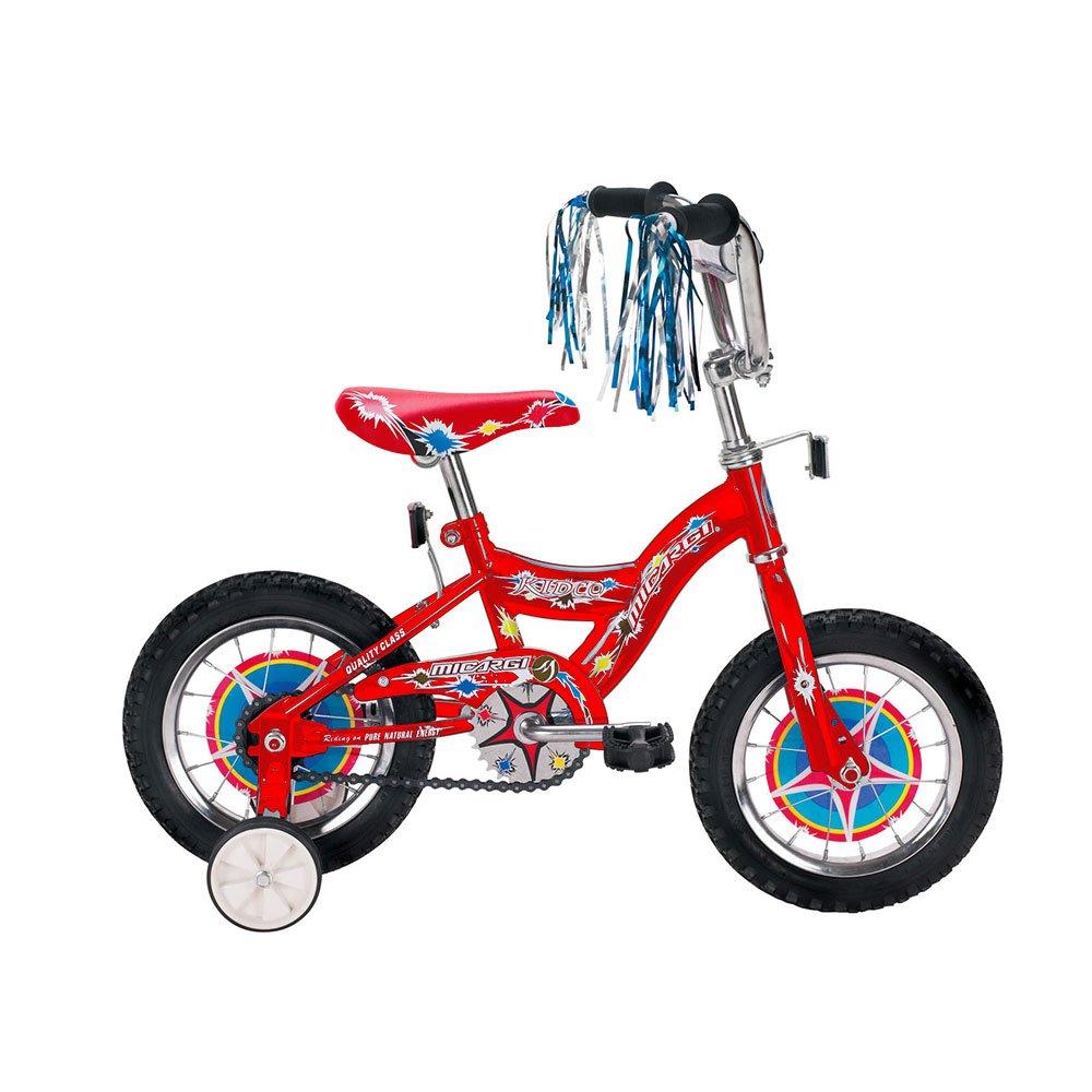 Micargi KIDCO Cruiser Bike, Red, 12-Inch by Micargi B00A7T5036