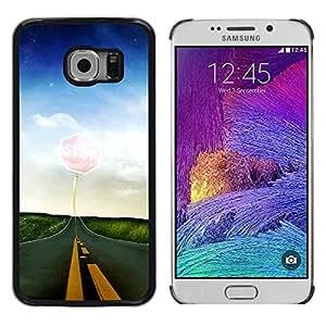 Be Good Phone Accessory // Dura Cáscara cubierta Protectora Caso Carcasa Funda de Protección para Samsung Galaxy S6 EDGE SM-G925 // Nature Beautiful Forrest Green 65