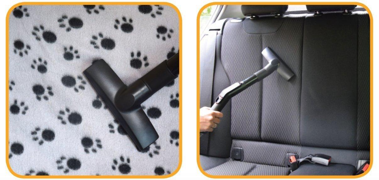 Juego de pelos de animales de aspiradora con dise/ño de gatos y perros de cepillo de di/ámetro 30-37 mm