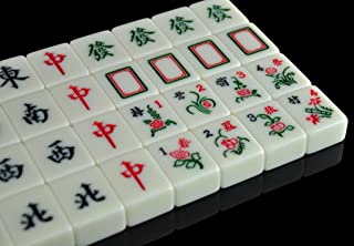 LI JING SHOP - 3.8 ~ 4.2CM grande Numero medio piccolo Mahjong, giallo chiaro Home mano sfregamento Mahjong, dimensioni: 3.8 * 3.0 * 2.0CM / 4.0.03.1 * 2.1CM /4.2*3.2*2.2CM ( dimensioni : 4.2*3.2*2.2CM )