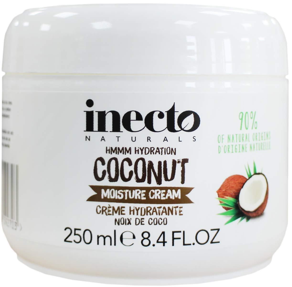 Inecto Naturals Moisture Cream, Coconut, 250 millilitre