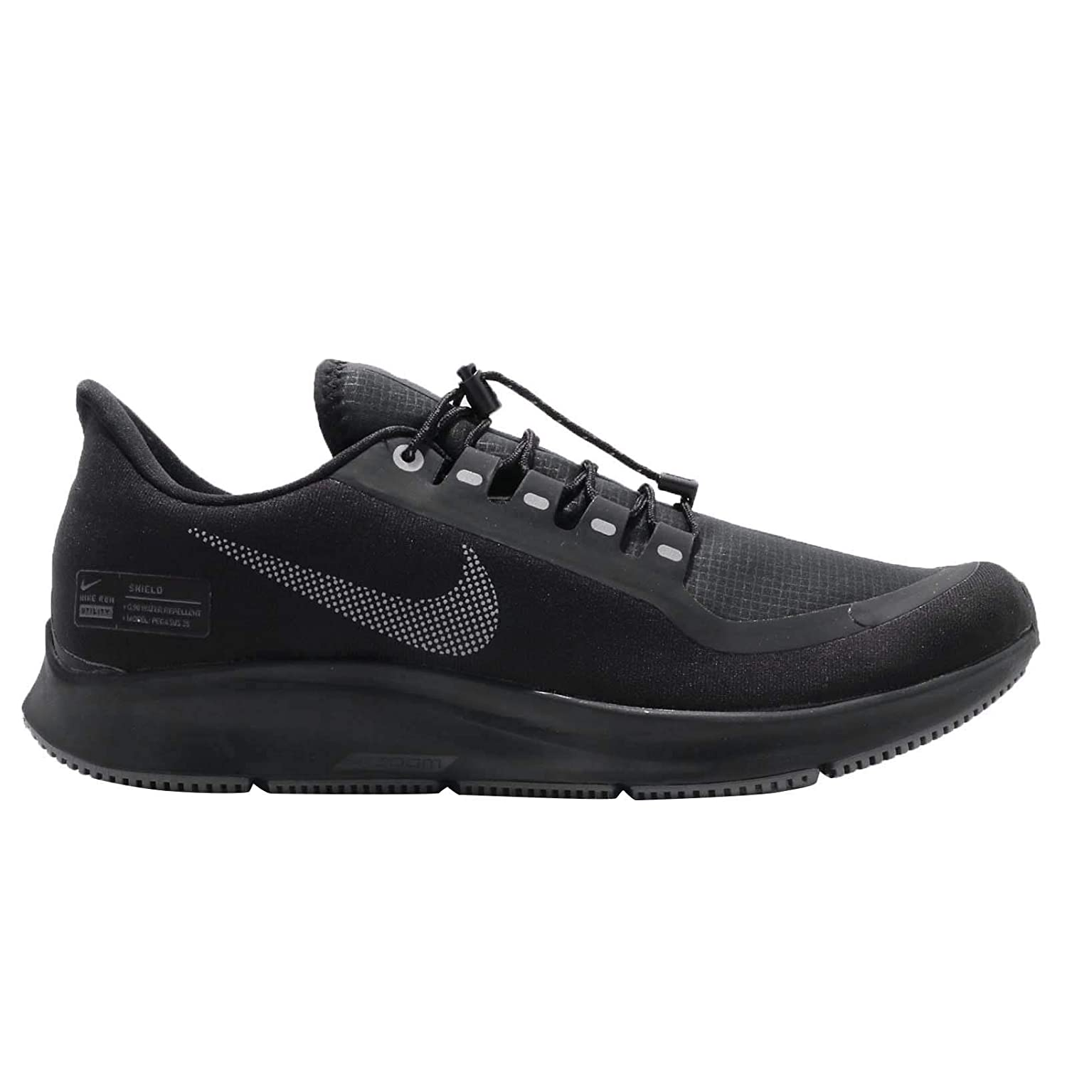 Amazon.com | NIKE Air Zoom Pegasus 35 Shield Mens Running Shoe Black/Anthracite-Anthracite-Dark Grey 9.5 | Road Running