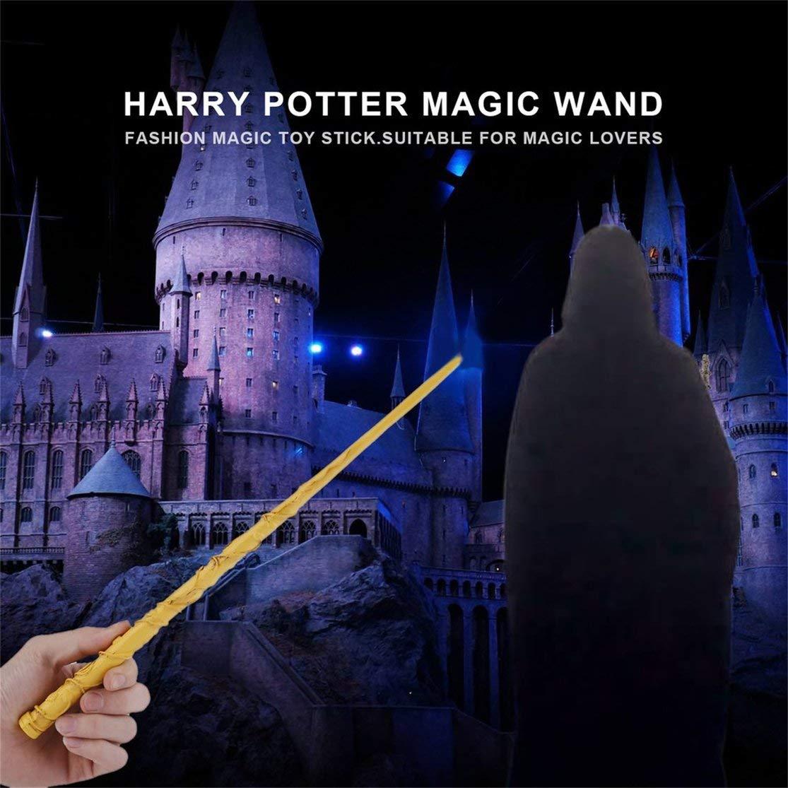 LouiseEvel215 Cool Metal Core Magic Stick Cosplay para Lord Voldemort//Harry Potter//Ron Weasley//Hermione Granger Varita m/ágica Exquisita Caja de Regalo