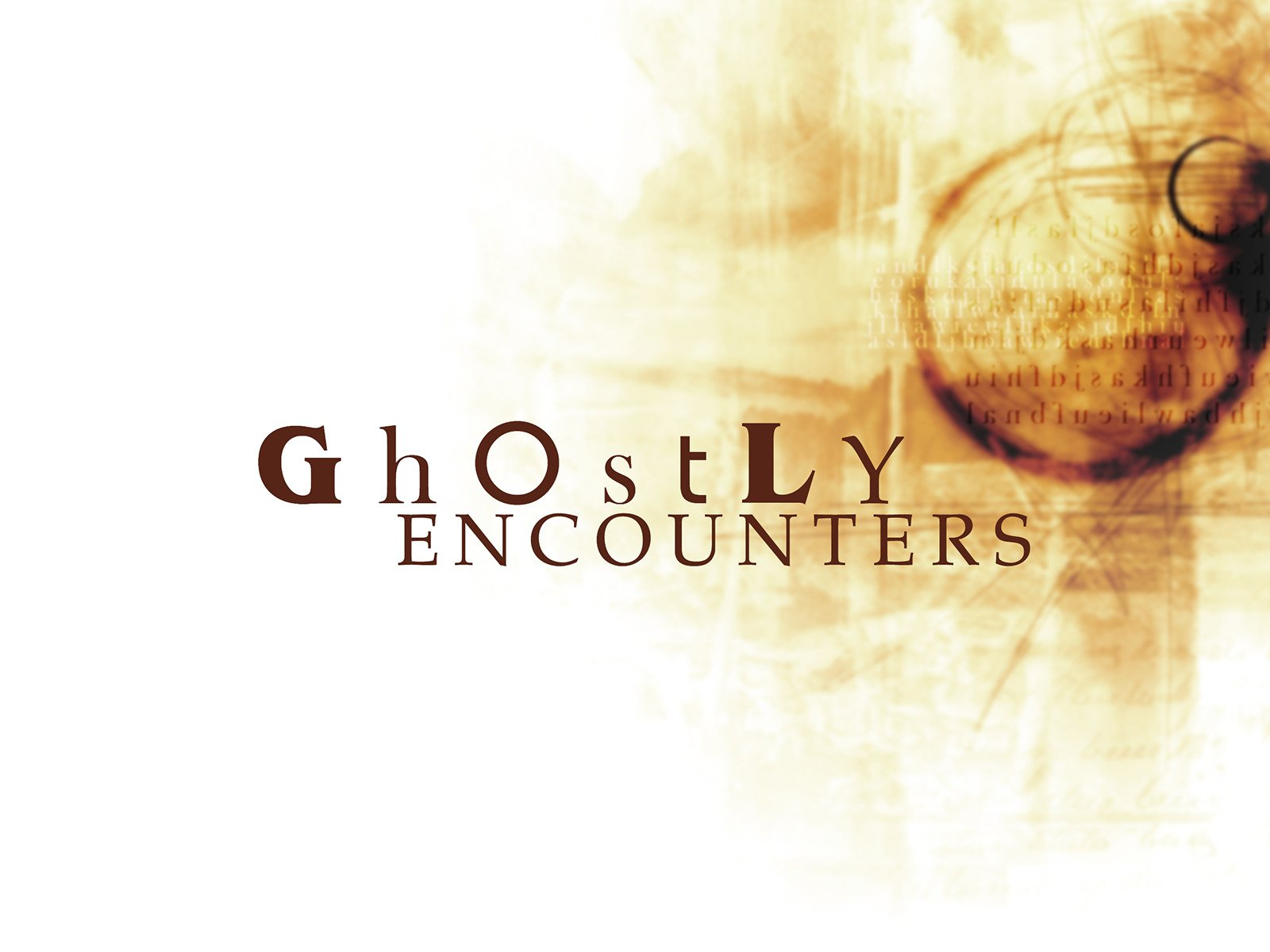 Ghostly Encounters on Amazon Prime Video UK