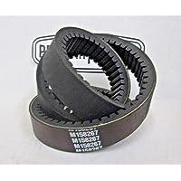 Drive Belt fit Can-am 715000302 420280360 715900030 715900212,AKM Double Notch Heavy Duty Carbon Cord Drive CVT Belt fit Outlander Commander Maverick