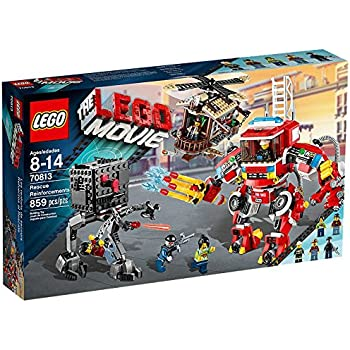 Amazon.com: Lego The Lego Movie Rescue Reinforcements Construction ...