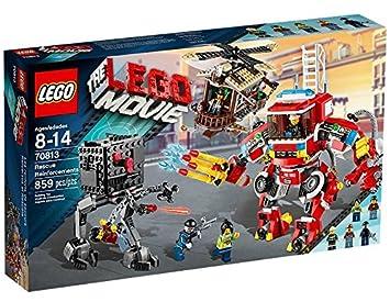 amazon com lego the lego movie rescue reinforcements construction