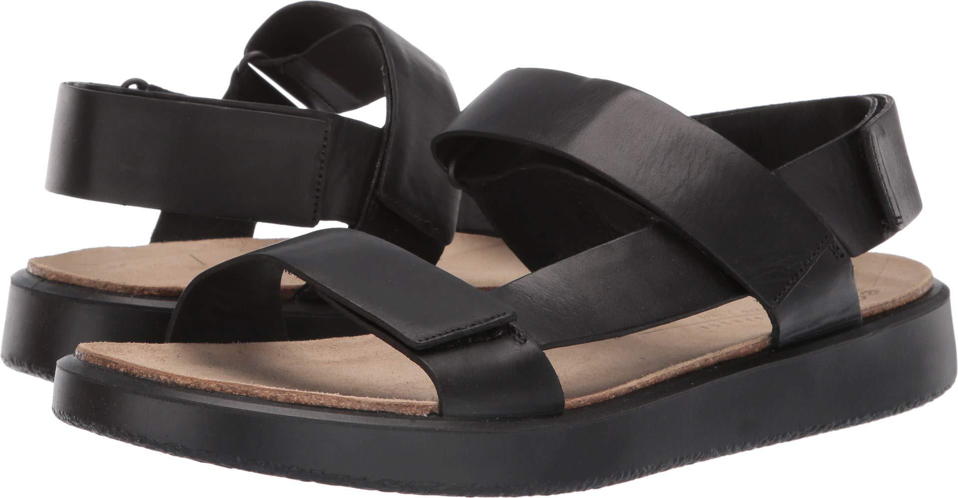 ECCO Men's CorkSphere Sandal Black 44 M EU (10-10.5 US)