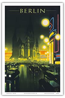 German Germany Land of Music Travel Tourism Vintage Poster Repro FREE SHIP in US