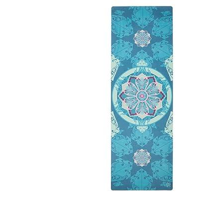 Ll Coeur Imprime Serviette De Yoga Pliable Tapis De Voyage Gym