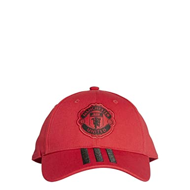 61f28fb68dc adidas Soccer Cap Hat Manchester United 3 Stripes Football New (OSFM - Men)